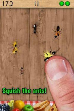 Aplasta hormigas. Juego para teléfonos celulares