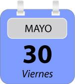 Calendario de la edición de mayo