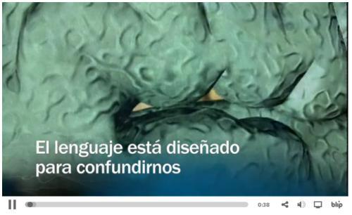 El lenguaje confunde al cerebro