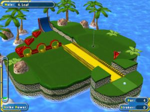 Juego de mini golf