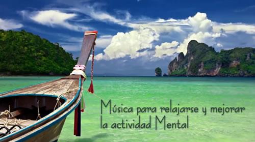 Música relajante para estimular la actividad mental