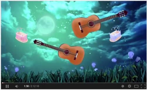 Video musical para relajar a los bebés