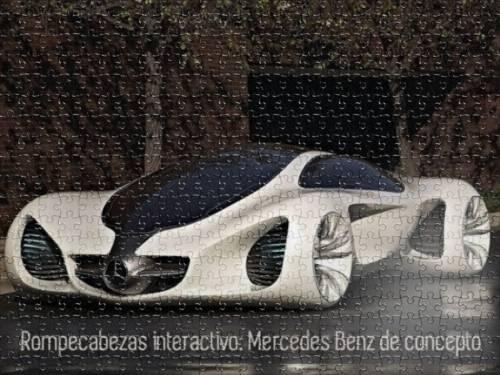Rompecabezas interactivo: Mercedes Benz de concepto