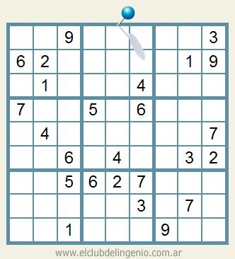 Sudoku de mediana dificultad