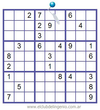 Sudoku interactivo de difícil resolución