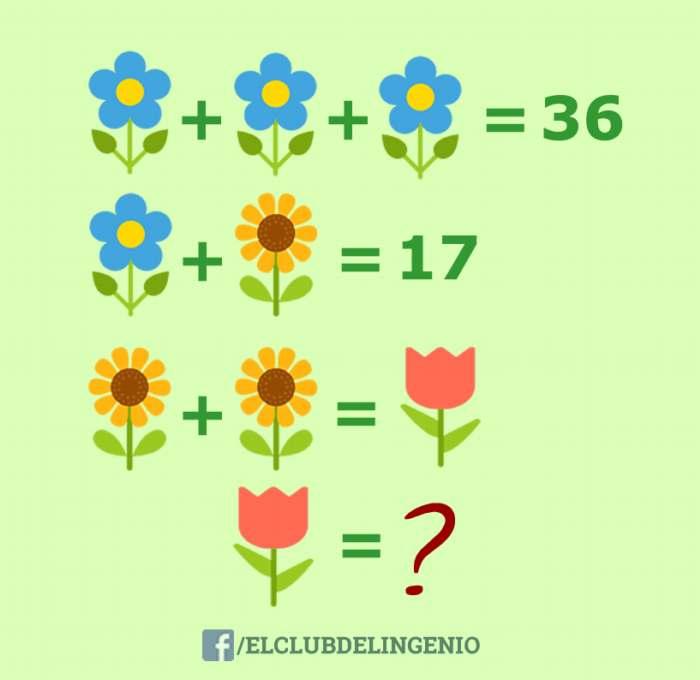 Un nuevo acertijo lógico matemático