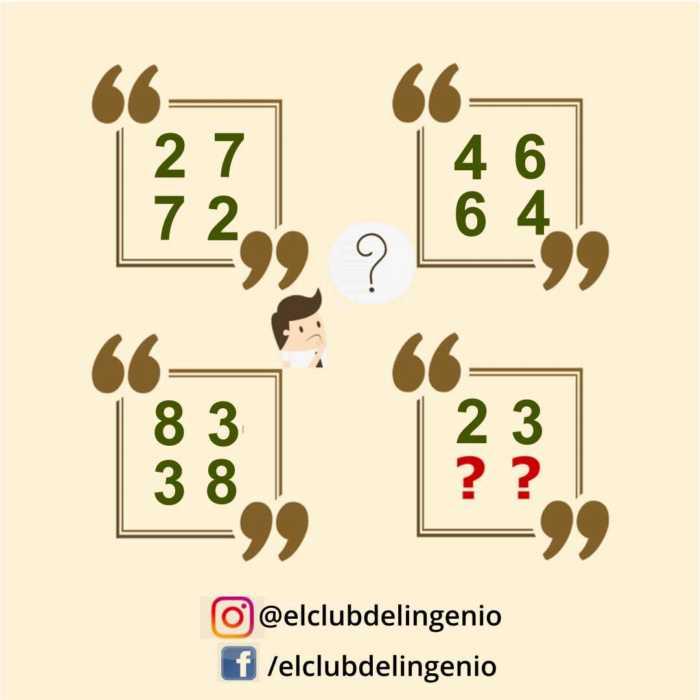 Un juego de números para agilizar la mente