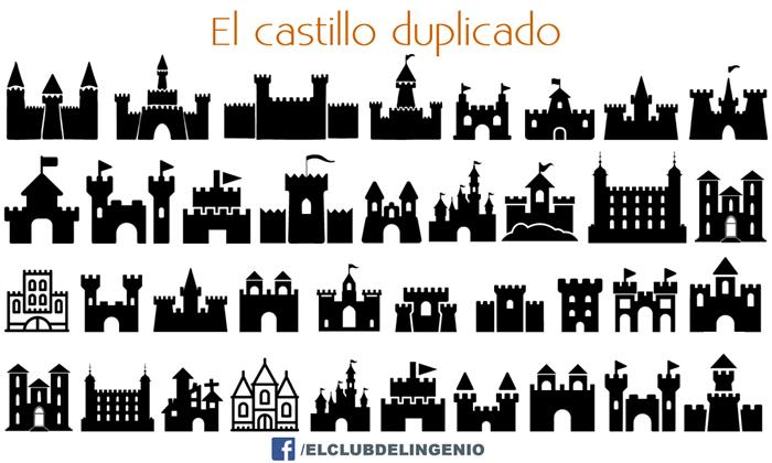 Castillos del mundo. Un juego de memoria visual