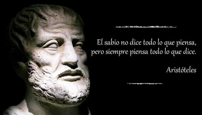 Cita de Aristóteles