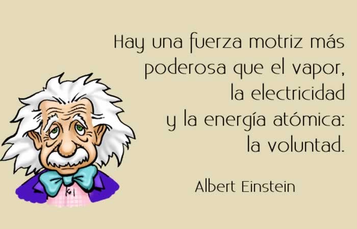 Albert Einstein y el poder de la voluntad