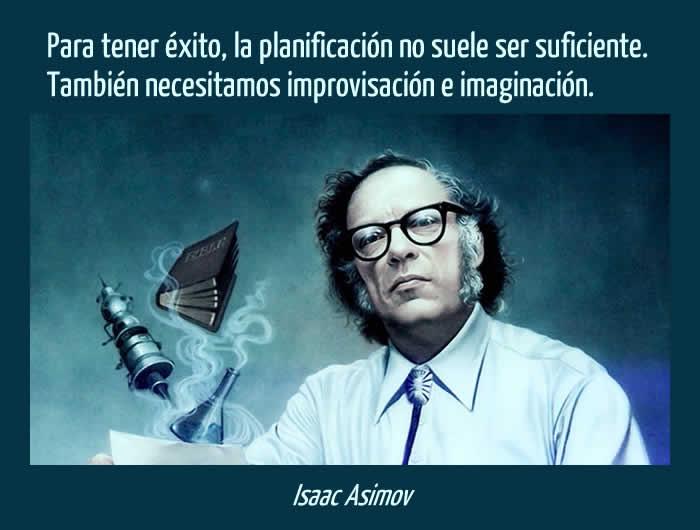 Cita de Isaac Asimov