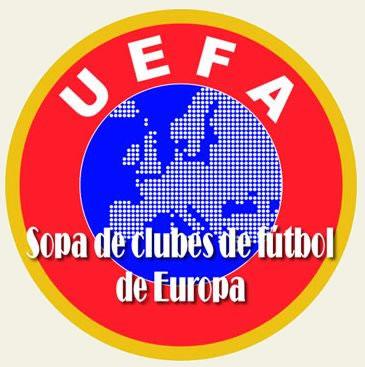 Sopa interactiva clubes de Europa
