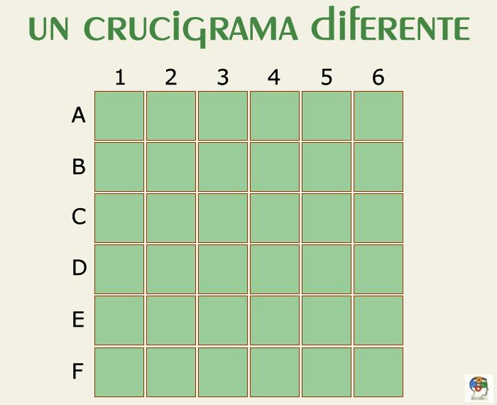 Un crucigrama diferente
