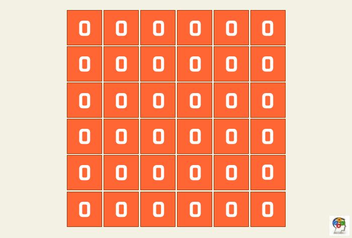 El juego de los ceros