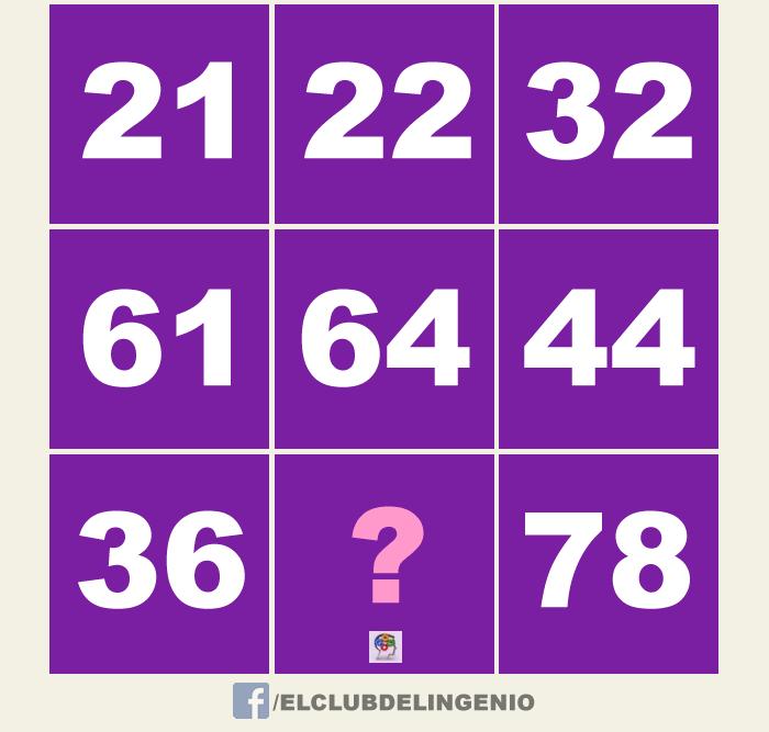 Agiliza tu mente completando el tablero numérico