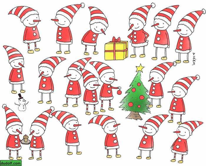 Entrena tu percepción visual con estos elfos