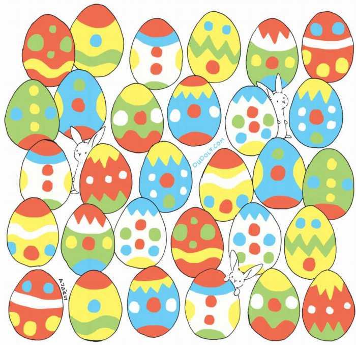Juega y entrena tu percepción visual con estos huevos