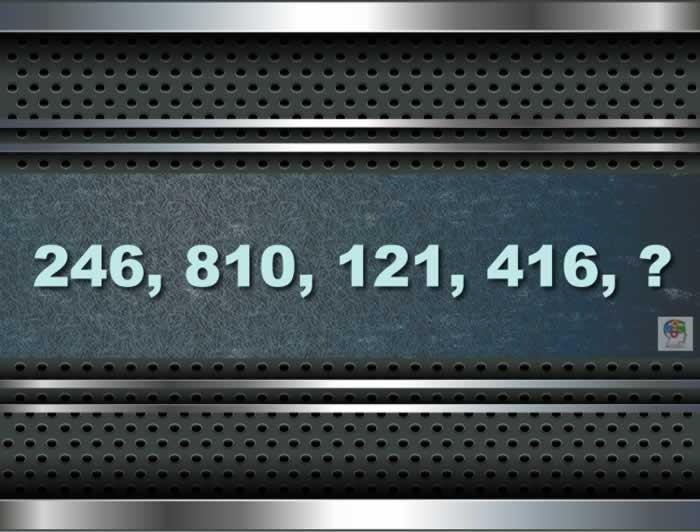 Una serie con un número que falta. Entrena tus neuronas