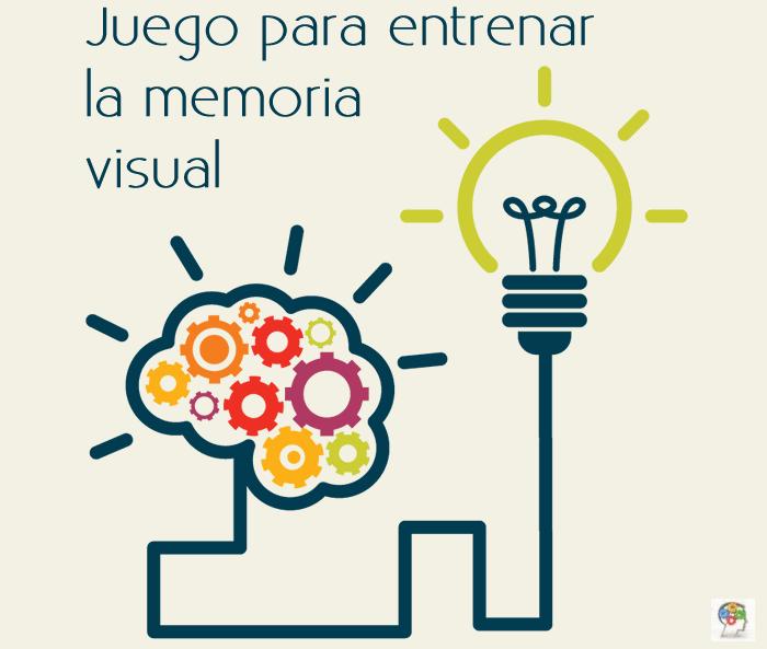 Juego para entrenar la memoria visual