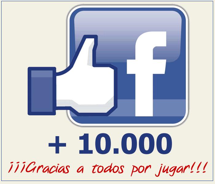 ¡Alcanzamos los 10.000 Me Gusta en Facebook!