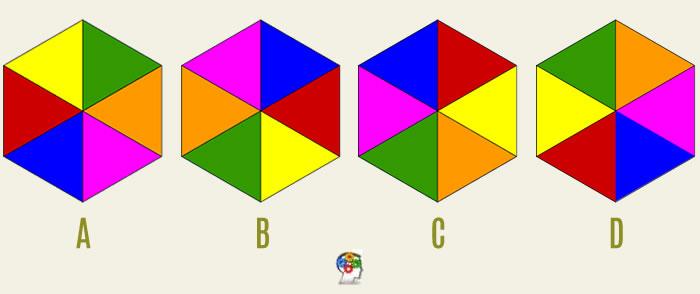 Formas y colores. Un juego de lógica