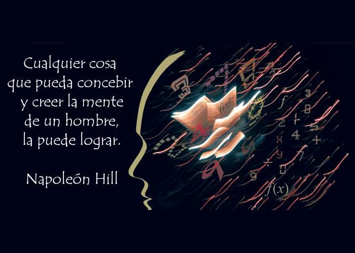 Cita del escritor Napoleon Hill