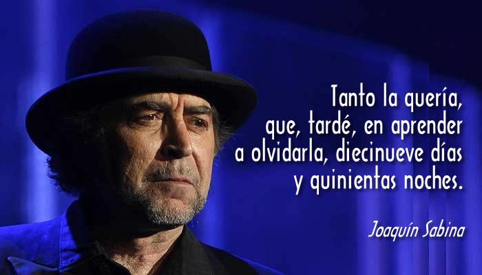 Un texto de Joaquín Sabina