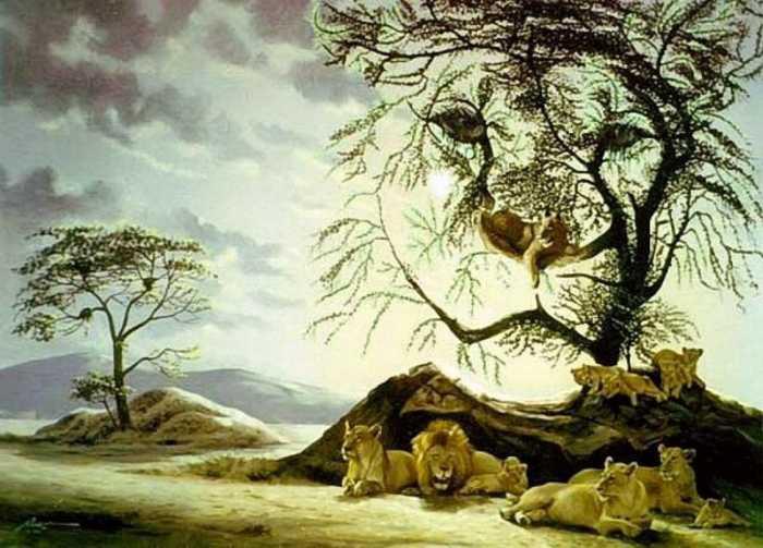 ilusion-optica-leones