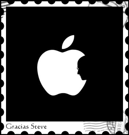 Homenaje a Steve Jobs. Ilusión visual