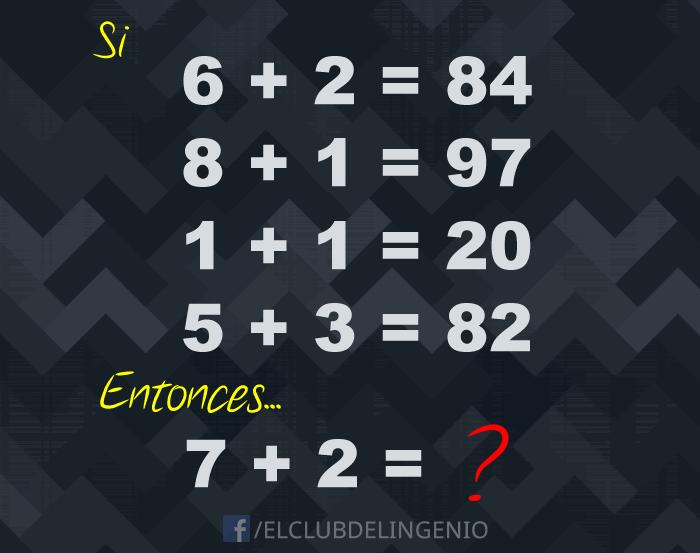 Resuelve este rompecabezas numérico