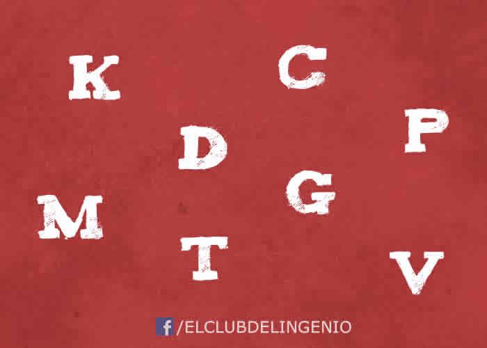 Todas las letras menos una