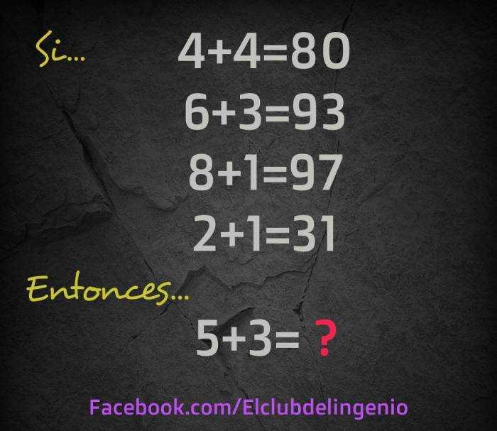 Entrena tus neuronas con este acertijo numérico
