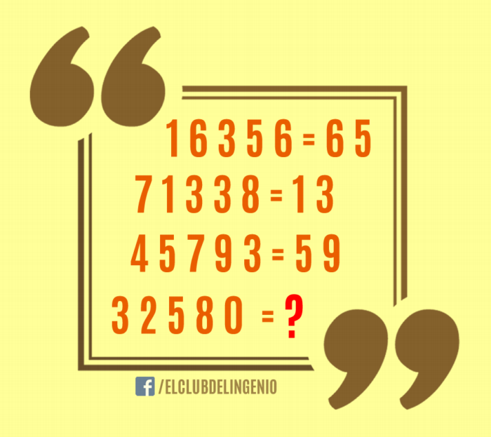 Agiliza tu mente resolviendo estas ecuaciones lógicas