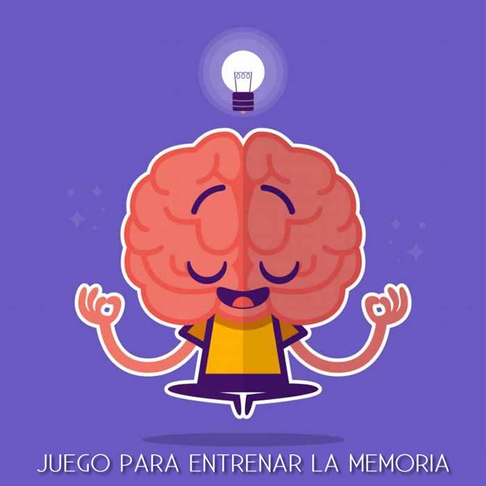 Juego para entrenar la memoria de corto plazo