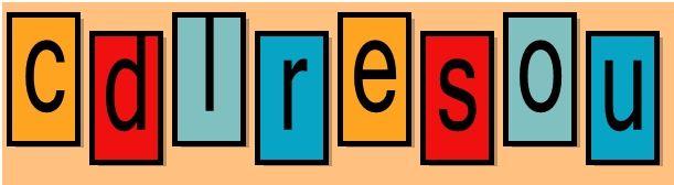Formar palabras con estas letras