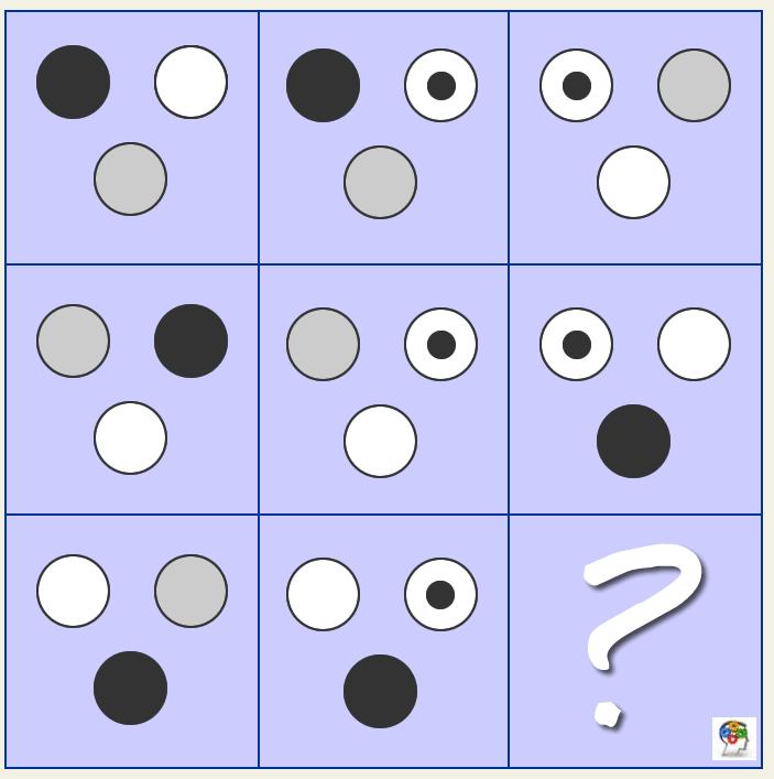 Lógica con figuara geométricas