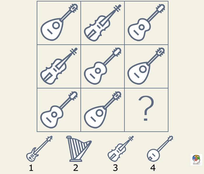 Serie de instrumentos musicales