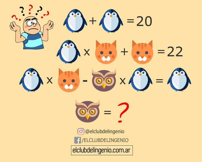 Lógica y cálculo con animales