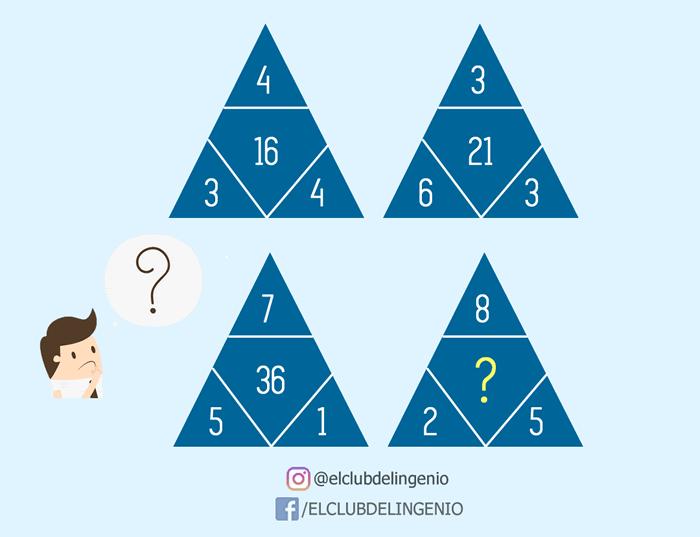 Lógica y razonamiento con triángulos