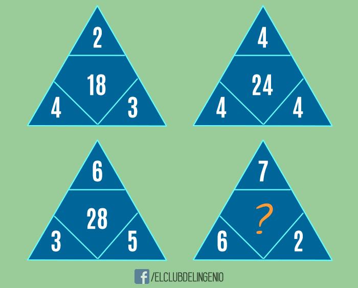 Razonando con triángulos