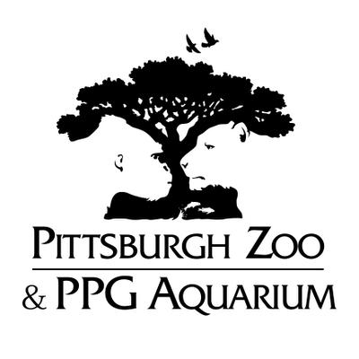 Ilusión visual del logo del Zoo Pittsburgh