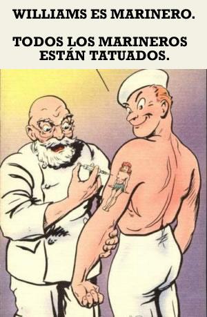 Acertijo marinero tatuado