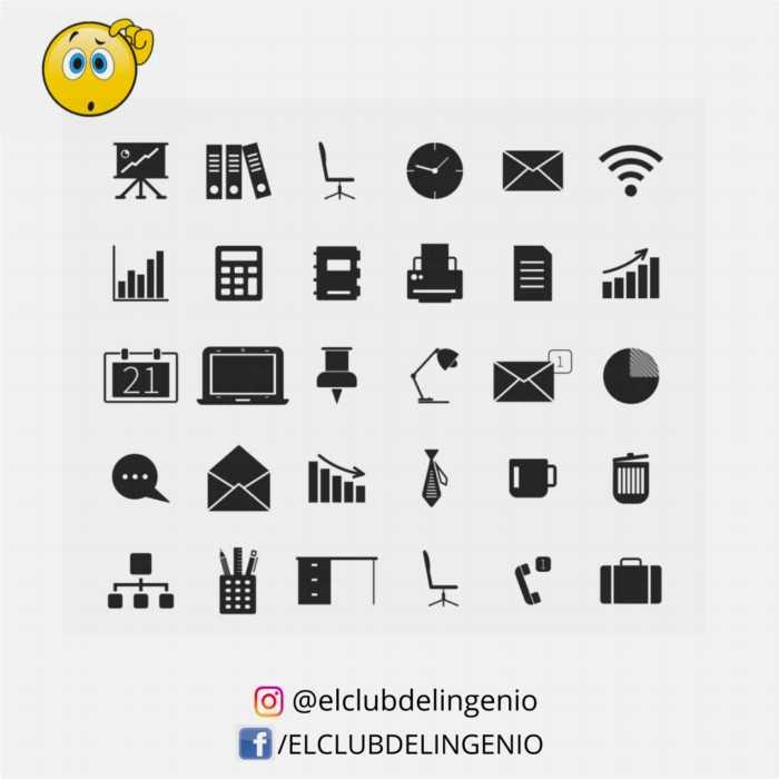 Iconos para jugar y entrenar tu memoria visual