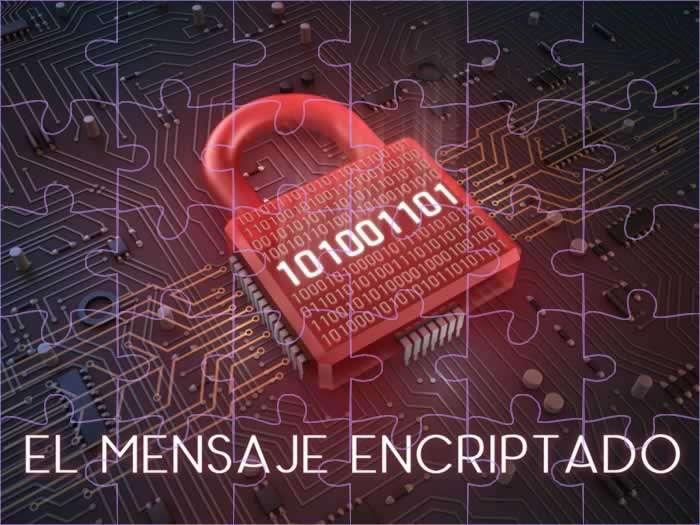 El mensaje encriptado