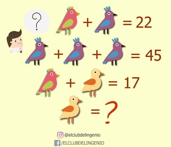 Un nuevo desafío lógico matemático
