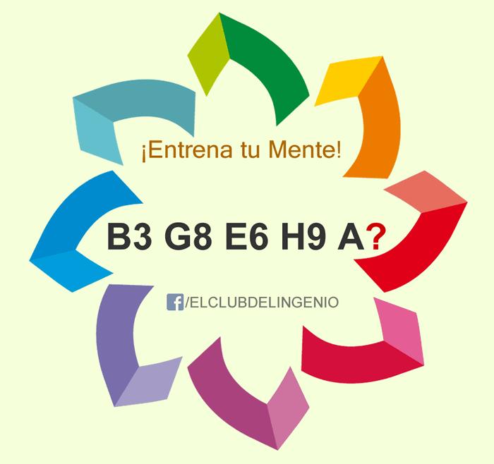 Letras y números relacionados