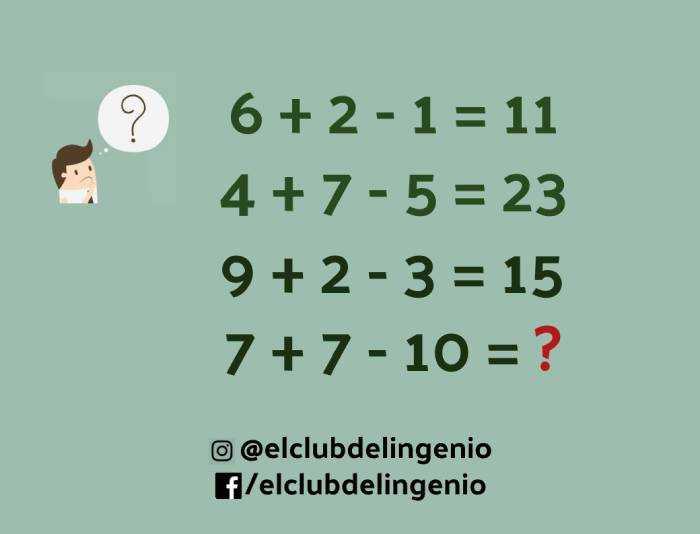 Expresiones matemáticas para jugar y razonar