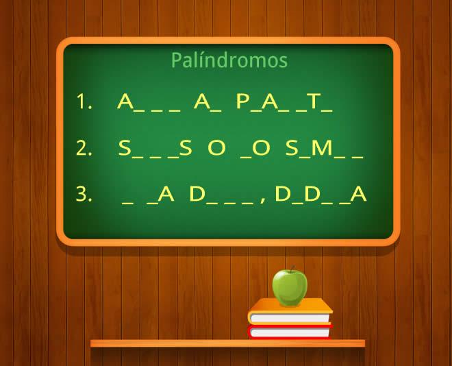palindromos