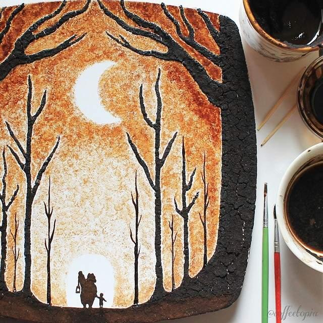 plato-pintado-con-cafe