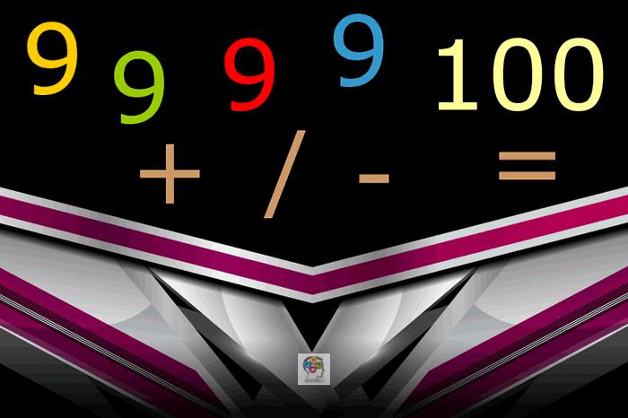 Calcular y construir una ecuación aritmética correcta